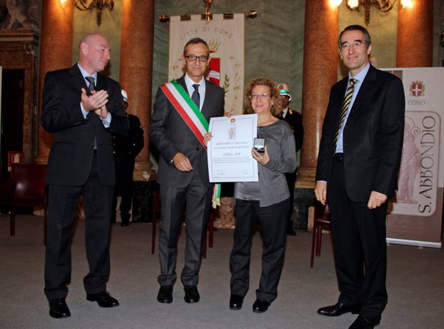 La presidente dell'associazione Osha-Asp Mariangela Volpati (Cusa)