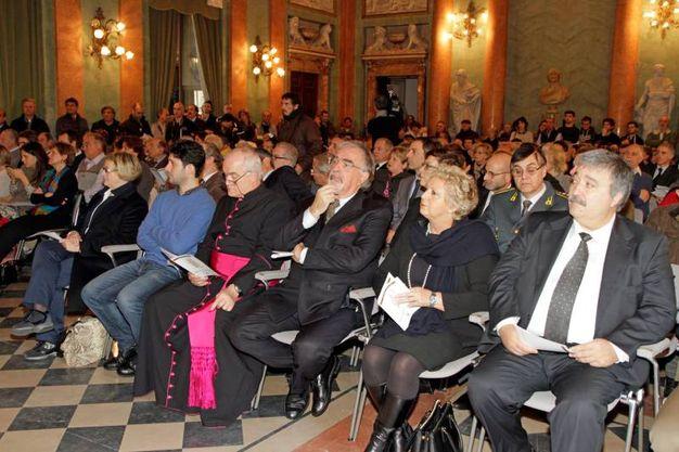 La cerimonia a Villa Olmo (Cusa)