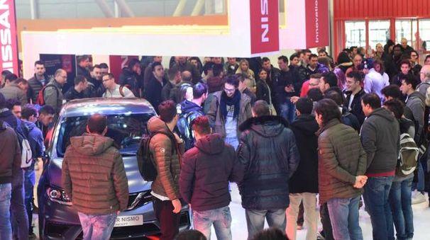 Un'immagine del Motor Show