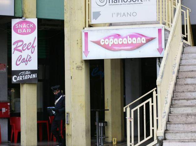 L'esterno del locale dove è avvenuta l'aggressione (Fotolive)
