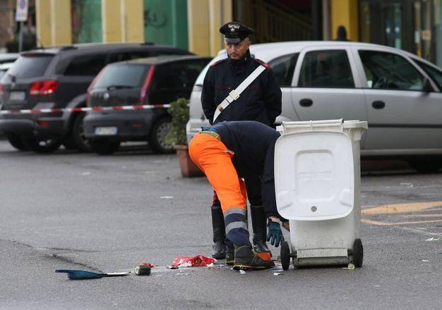 I carabinieri sono al lavoto per ricostruire la dinamica dell'accaduto (Fotolive)
