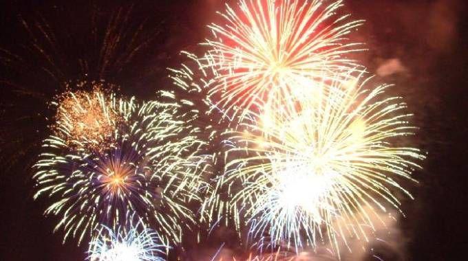 Fuochi d'artificio (Foto Lecci)