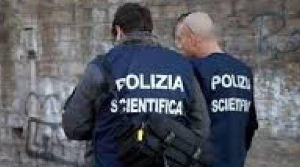 La polizia scientifica (Archivio)