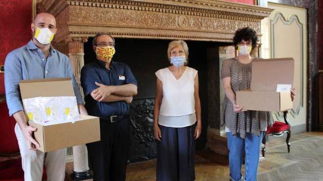 Cremona, donate alla Federazione oratori cremonesi mascherine per i bambini al Grest