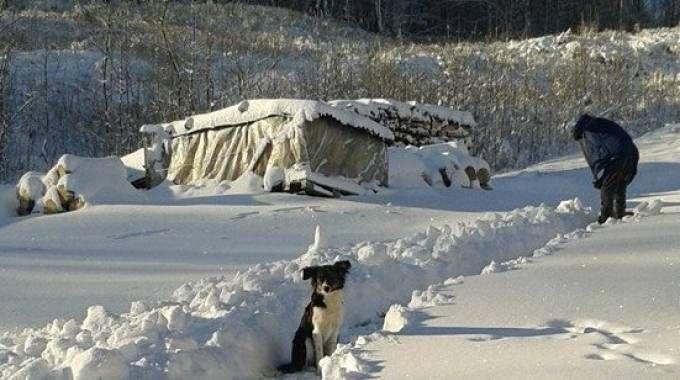 Neve sugli Appennini