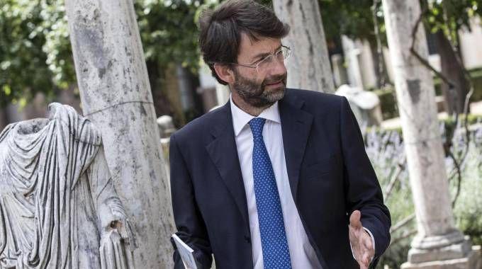 Il ministro dei Beni Culturali Enrico Franceschini (Ansa)