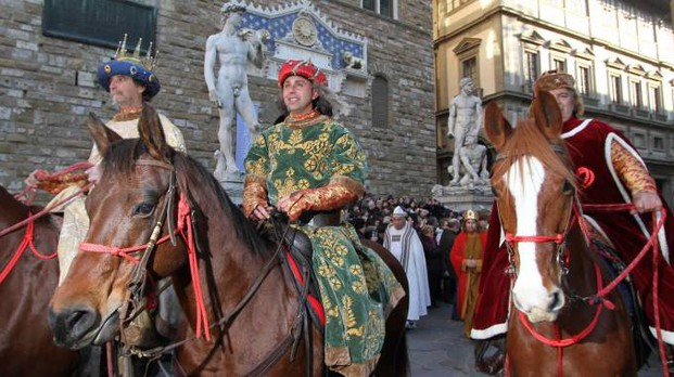 La Cavalcata dei Magi a Firenze