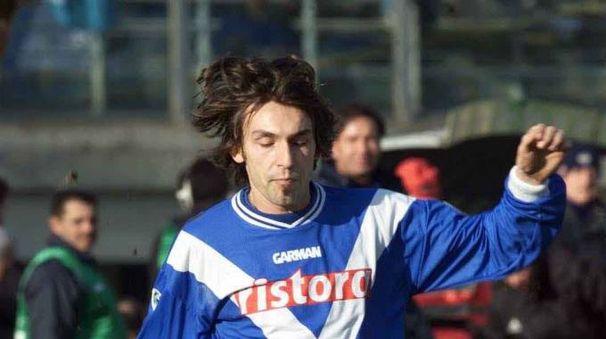 Andrea Pirlo con la maglia del Brescia (Alive)