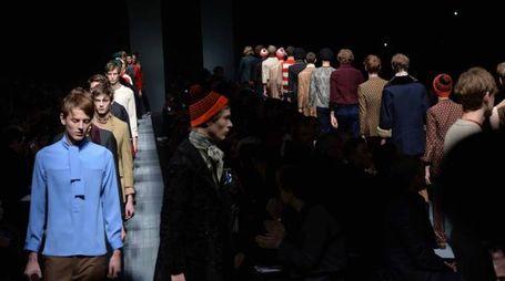 Gian Mattia D'Alberto / lapresse 19-01-2015 Milano spettacolo moda Milano Moda Uomo autunno-inverno 2015-2016 sfilata Gucci nella foto: la sfilata  Gian Mattia D'Alberto  / lapresse 19-06-2012 Milan Milan Fashion fashion  autumn-winter 2015-2016 Gucci  show In the photo: the show