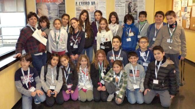 La scuola primaria servetti donati di budrio in visita for Scuola di moda brescia