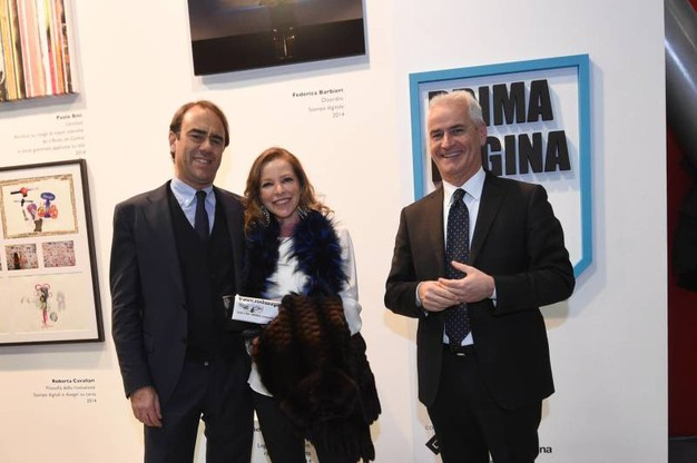 Premiazione Prima Pagina Art Prize