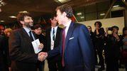 Il ministro Dario Franceschini e Bruno Riffeser Monti