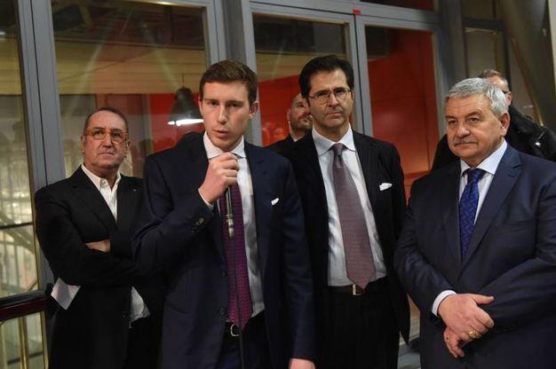 Bruno Riffeser Monti, Pierluigi Masini e il presidente di BolognaFiere Duccio Campagnoli