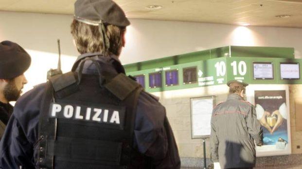 Polizia all'aeroporto di Malpensa