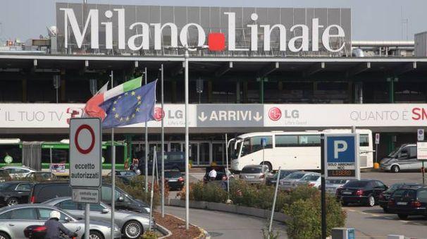 L'aeroporto di Linate (Newpress)