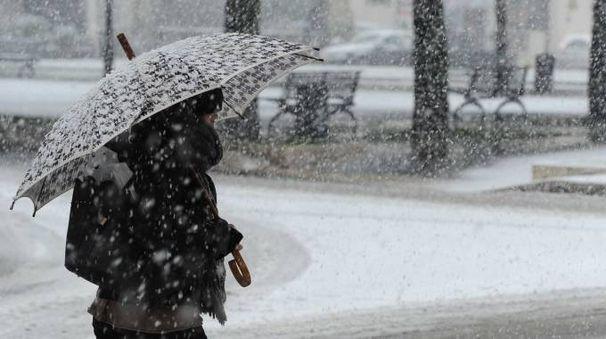 Neve in arrivo, foto generica