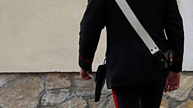 Un carabiniere in servizio