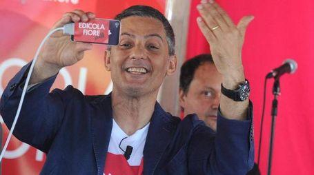 Rosario Fiorello in una immagine del 12 giugno 2013.   ANSA / ETTORE FERRARI