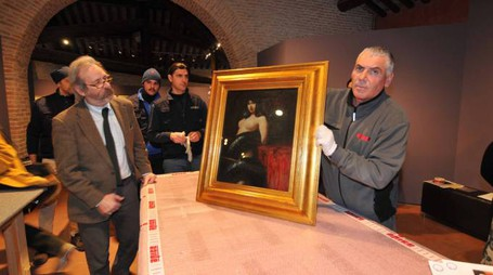 PALAZZO ROVERELLA ALLESTIMENTO MOSTRA  IL DEMONE DELLA MODERNITA' 10.02.2015-