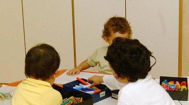 Bimbi di una scuola materna (foto archivio)
