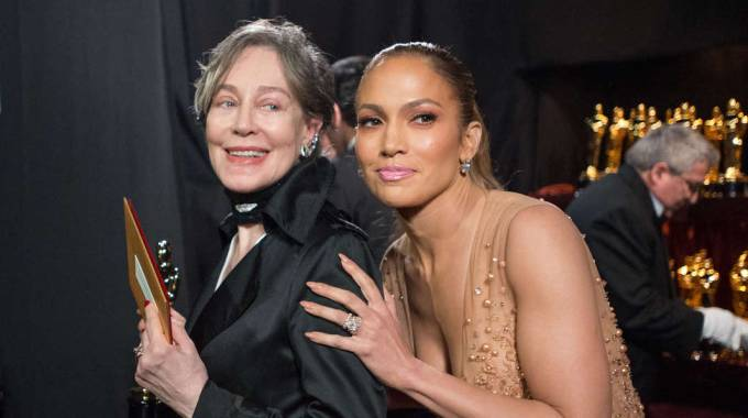 Oscar, Milena Canonero e Jennifer Lopez (Olycom)