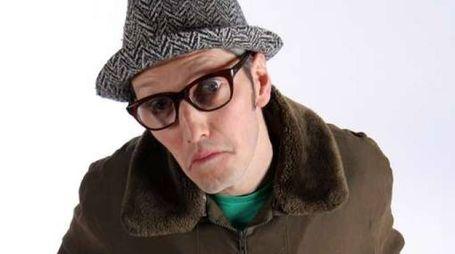Il comico Omar Fantini