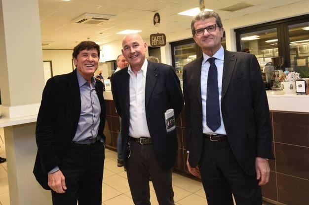 Con Andrea Monti Riffeser ed Enzo Mengoli