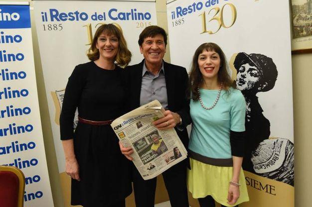 Con le lettrici vicedirettrici per un giorno Chiara Rubbini e Miriam Merico