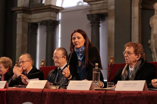 Firenze, il convegno a Palazzo Vecchio per il decimo anniversario dalla morte di Mario Luzi (Giuseppe Cabras/New Pressphoto)