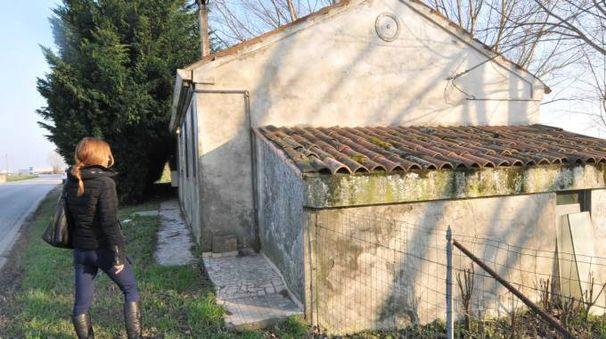 l luogo in cui è avvenuta l'aggressione a Sant'Apollinare (Foto Donzelli)