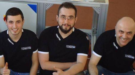 Lorenzo Baldessarri, Luca Nanetti e Sergio Tonioni