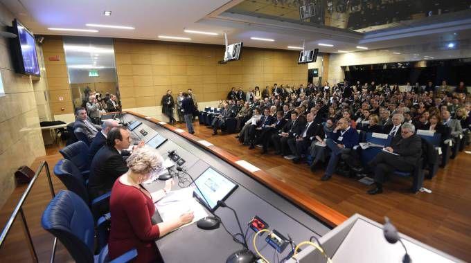 Bologna, il convegno organizzato dal Carlino a 50 giorni da Expo (FotoSchicchi)