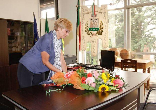 Alla cerimonia ha partecipato il ministro della Difesa Roberta Pinotti