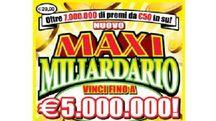 Il gratta e vinci 'Nuovo Maxi Miliardario'