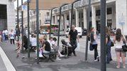 L'arrivo dei turisti in piazza Grande (Novi)