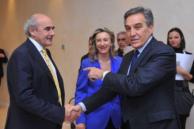 Il vicedirettore Beppe Boni e Vincenzo Stingone