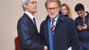 Il vicedirettore Massimo Gagliardi con Ivano Dionigi