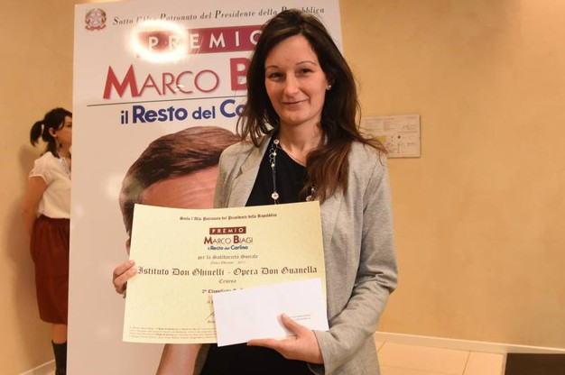 Elisa Rimotti, Istituto don Ghinelli di Cesena