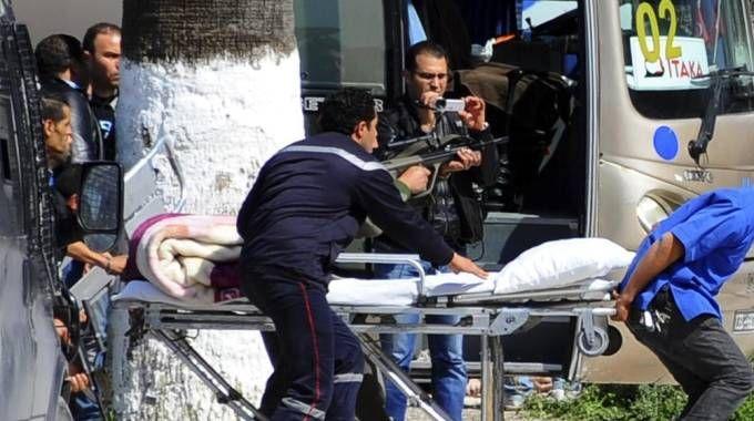 Tunisi, assalto al museo (Ansa)
