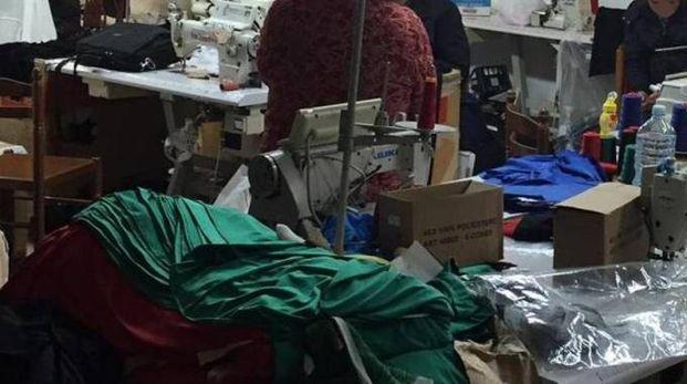 Un laboratorio tessile (foto di repertorio)