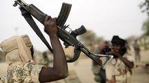 Guerriglieri di Boko Haram (Ansa)