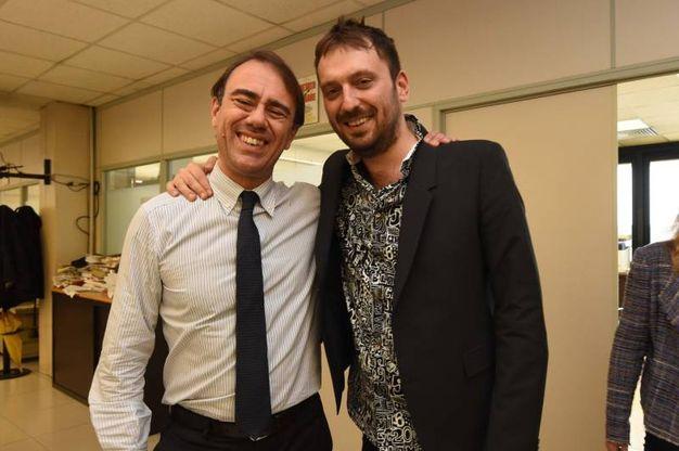 Con il direttore Andrea Cangini