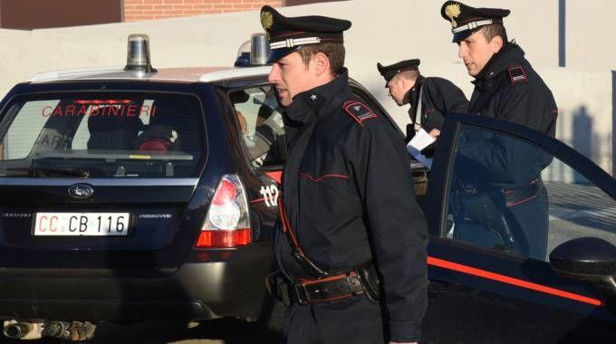 I carabinieri del nucelo investigativo