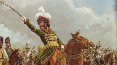 Gioacchino Murat guida il suo esercito all'attacco