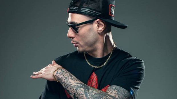 Il rapper Fabri Fibra