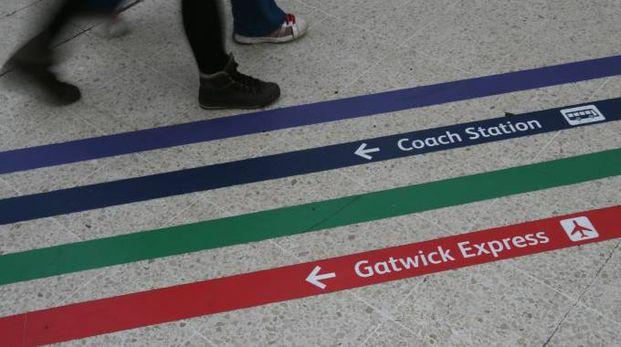 L'aeroporto di Gatwick (LaPresse)