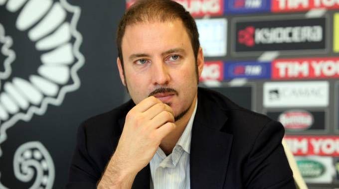 Igor Campedelli, presidente dell'Ac Cesena dal 2007 al 2012