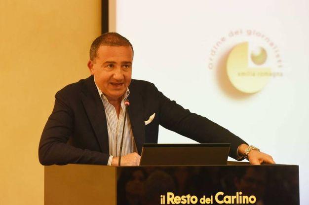 Antonio Farnè, Presidente Ordine dei Giornalisti Emilia Romagna (foto Schicchi)