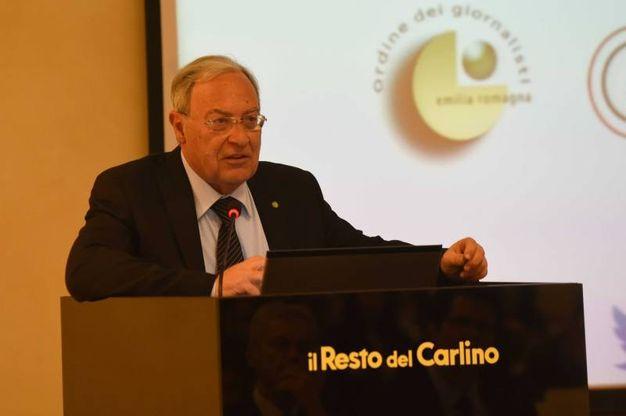 Dario Gattafoni, Presidente Ordine dei Giornalisti Marche (foto Schicchi)