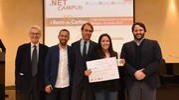 Future Digitale Experience Awards, la seconda classificata Elisabetta Gardini (foto Schicchi)
